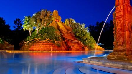Coronado Springs Pool at Night