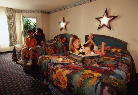 Disney's All Star Movies Resort Guest Room