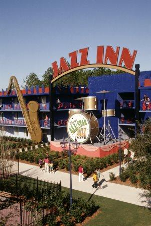 Disney's Allstar Music's JAzz Inn