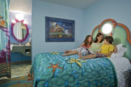 Disney's Art of Animation Little Mermaid Standard Room