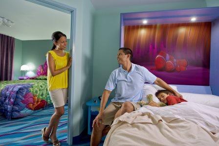 Disney's Art of Animation Nemo Family Suite