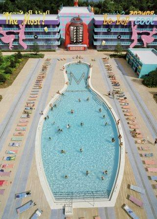 Disney's Pop Century Resort Bowling Pool