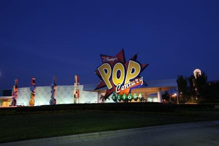 Disney's Pop Century Resort Exterior