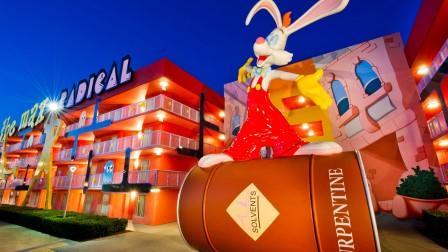Disney's Pop Century Roger Rabbit