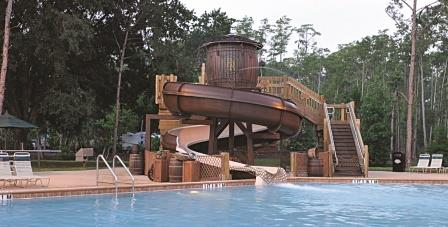 Fort WIlderness Cabins Pool