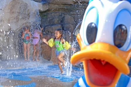 Fun in the Pool With Donald