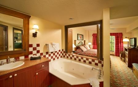 Master Bathroom in Villa