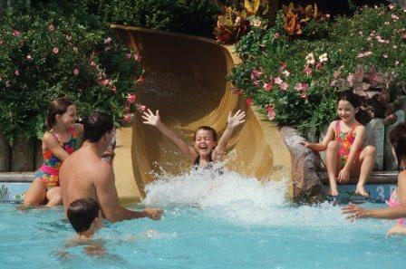 Riverside Water Slide Pool