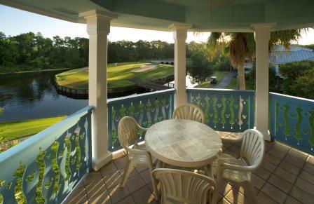 Villa Balcony Overlooking Golf Course