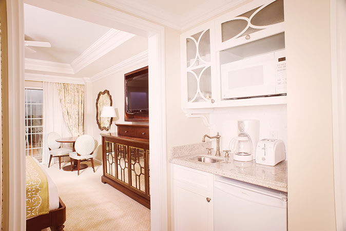 Villas at the Grand Floridian Deluxe Studio Kitchenette