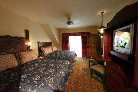 Wilderness Lodge Guest Room