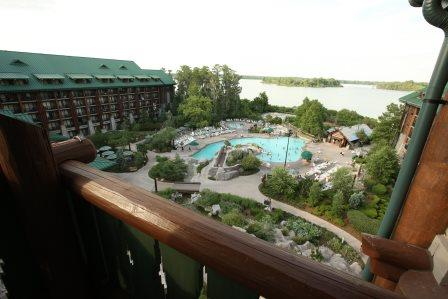 Wilderness Lodge Guest Suite Balcony
